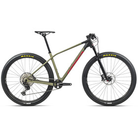 Orbea Alma M30, savage green/bright red